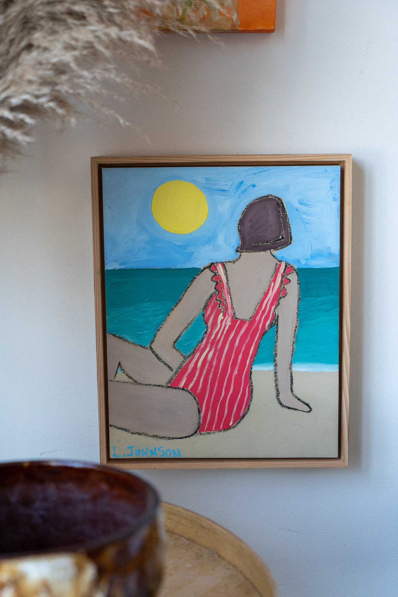 Bathing Suit Painting