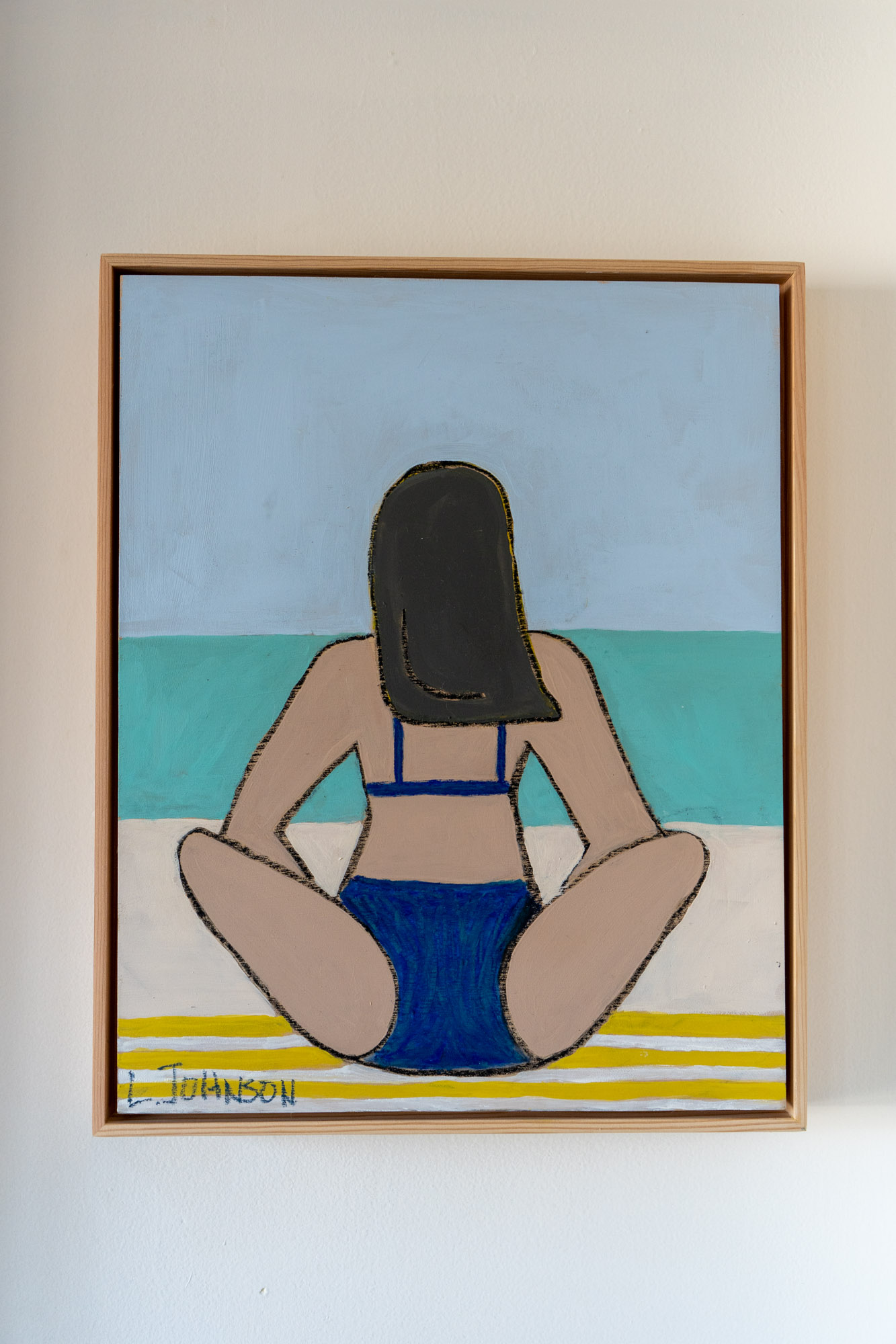 Bathing Suit Painting 2
